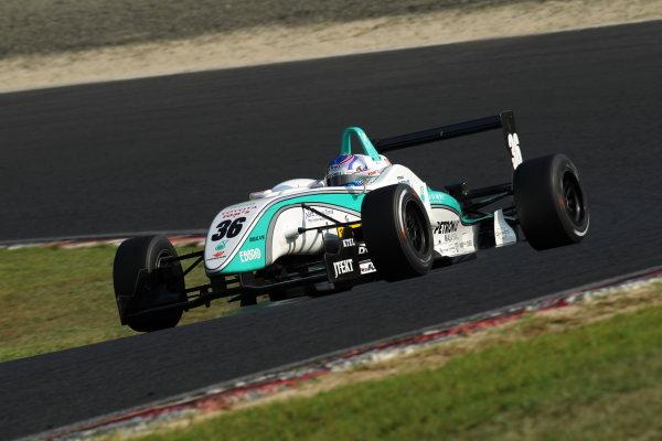 2010 Japanese Formula Three ChampionshipOkayama, Japan. 4th September 2010.Rd 11 Winner Rafael Suzuki ( #36 PETRONAS TEAM TOM'S ) action.World Copyright: Yasushi Ishihara/LAT Photographicref: 2010JF3_R11_003