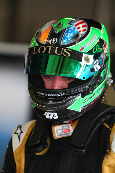 Conor Daly (USA) Lotus GP. GP3 Series Testing, Silverstone, England, 12 April 2012.