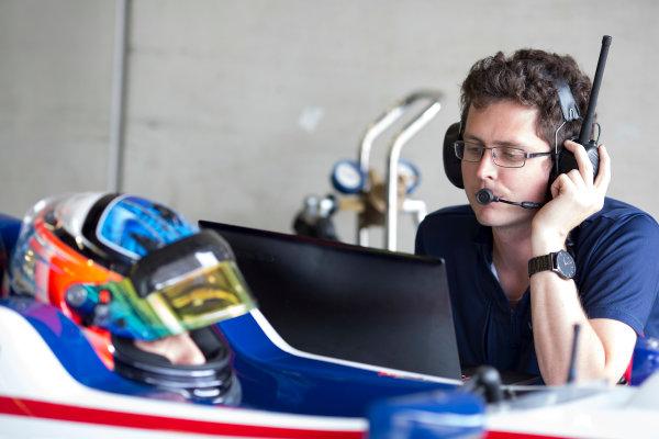 2016 GP3 Series Testing.  Spielberg, Austria. Red Bull Ring,  Wednesday 8th June 2016 . Matevos Isaakyan (RUS, Koiranen GP). Photo: Alastair Staley/GP3 Media Service  ref: 580A9047
