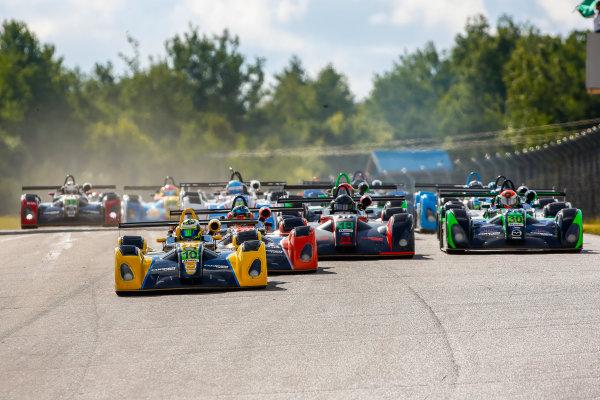 7-9 July 2016, Bowmanville, Ontario Canada IMSA Lites Race 1 Start ?2016, Jake Galstad LAT Photo USA