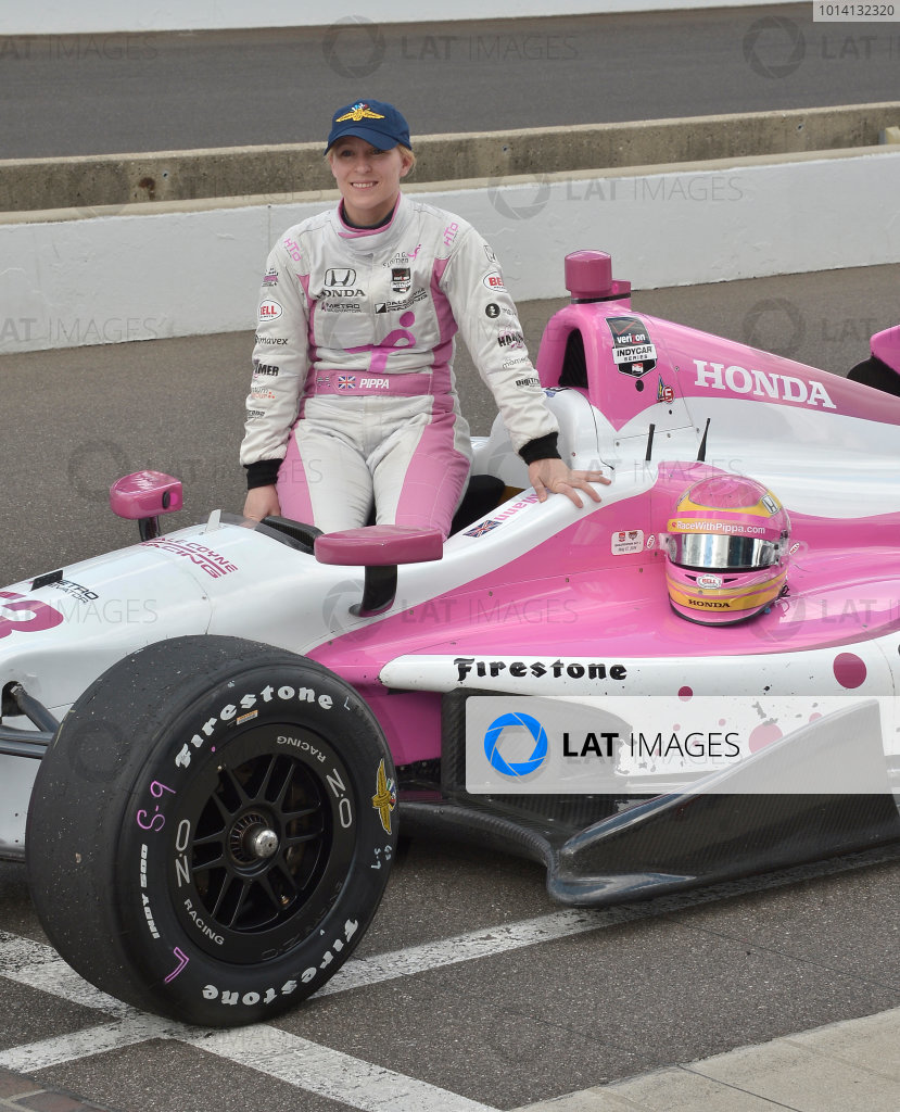17-18 May, 2014, Indianapolis, Indiana, USA #63 Pippa Mann, Dale Coyne Racing ©2014 Dan R. Boyd LAT Photo USA