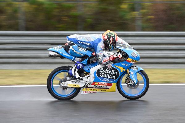 2017 Moto3 Championship - Round 15 Motegi, Japan. Friday 13 October 2017 Aron Canet, Estrella Galicia 0,0 World Copyright: Gold and Goose / LAT Images ref: Digital Image 21501