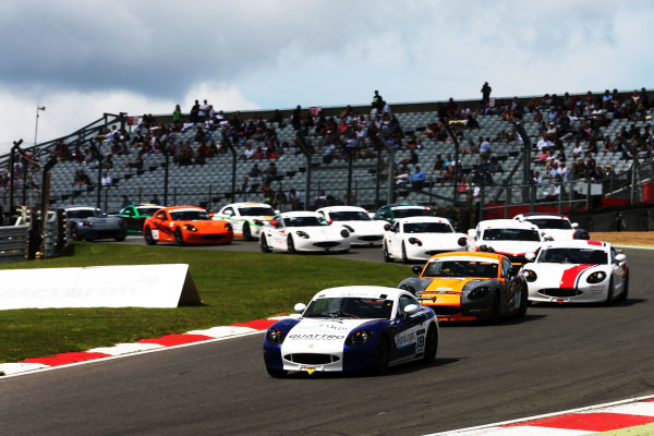 2017 Ginetta GRDC,  Brands Hatch, 5th-6th August 2017, Start of the race  World Copyright. JEP/LAT Images
