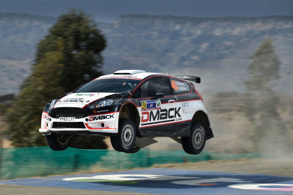 Jari Ketomaa (FIN) and Kaj Lindstrom (FIN) Ford Fiesta RS WRC at World Rally Championship, Rd3, Rally Mexico, Day Two, Leon, Mexico, 7 March 2015.