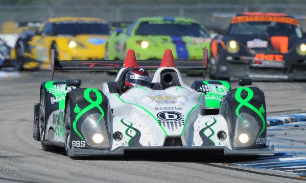 14-19 March 2011. Sebring, Florida USA#018 Performance Tech Motorsports Oreca FLM09©2011 Dan R. Boyd LAT Photo USA