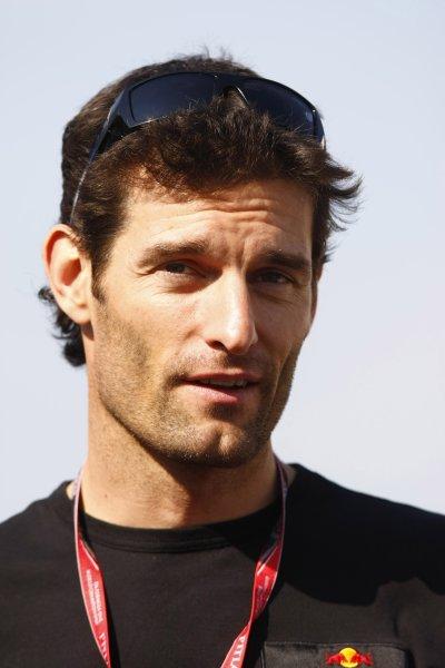 2008 Spanish Grand Prix - Thursday PreviewCircuit de Catalunya, Barcelona, Spain.24th April 2008.Mark Webber, Red Bull Racing RB4 Renault. Portrait.World Copyright: Charles Coates/LAT Photographic.ref: Digital Image _26Y0793