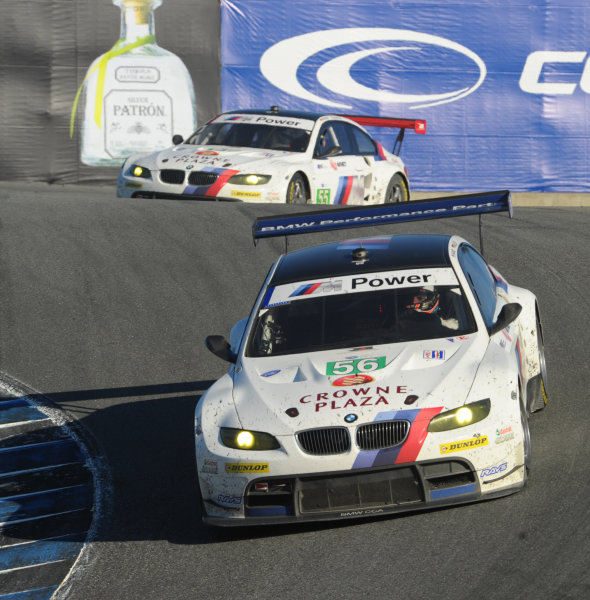16-18 September, 2011, Monterey, California USA#55 & #56  BMW Team RLL BMW E92 M3(c)2011,  Dan R. Boyd  LAT Photo USA