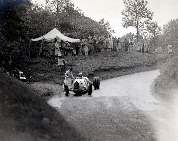 1936 Shelsley Walsh Hill Climb.
