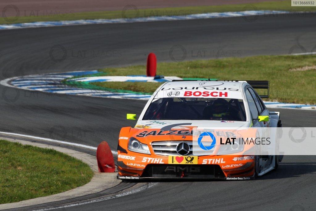 Ralf Schumacher (GER), Salzgitter AMG Mercedes C-Klasse (2009).DTM, Rd8, Oschersleben, Germany, 16-18 September 2011 Ref: Digital Image dne1117se577