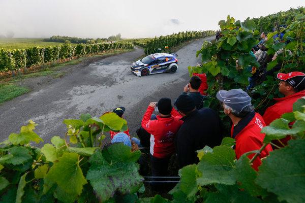 2014 World Rally Championship Rallye Deutschland 21-24 th August 2014 Julien Maurin, Ford WRC2, Action Worldwide Copyright: McKlein/LAT