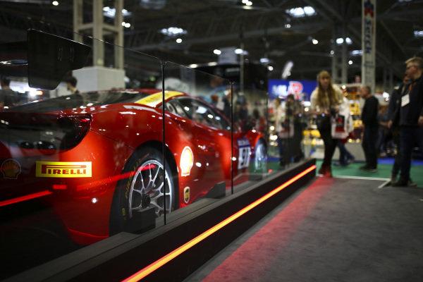 Pirelli branding on a Ferrari.