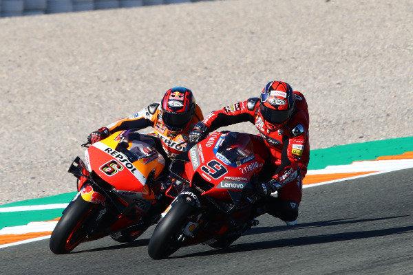 Danilo Petrucci, Ducati Team, Stefan Bradl, Repsol Honda Team, .