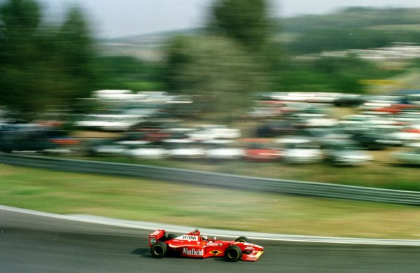 1998 Hungarian Grand Prix.Hungaroring, Budapest, Hungary.14-16 August 1998.Heinz-Harald Frentzen (Williams FW20 Mecachrome).World Copyright - Steve Etherington/LAT Photographic