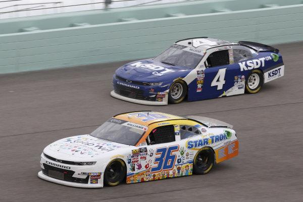 #36: Josh Williams, DGM Racing, Chevrolet Camaro Startron / Sleep Well #4: B.J. McLeod, JD Motorsports, Chevrolet Camaro KSDT & Company CPA