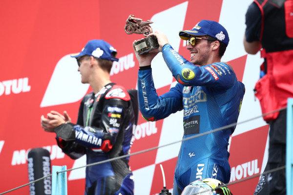 Podium: third place Joan Mir, Team Suzuki MotoGP.