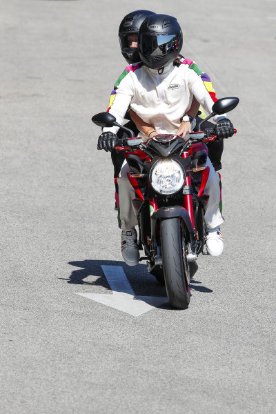 Sir Lewis Hamilton, Mercedes and Angela Cullen, Physio for Lewis Hamilton