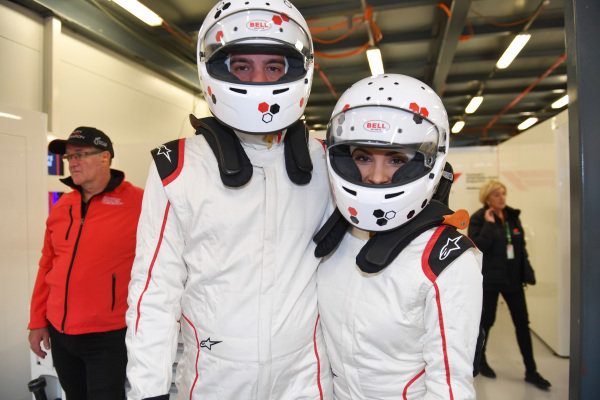 F1 Experiences 2-Seater passengers at Formula One World Championship, Rd1, Australian Grand Prix, Preparations, Melbourne, Australia, Thursday 22 March 2018.