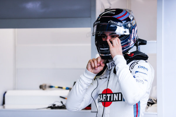 Lance Stroll, Williams Martini Racing.