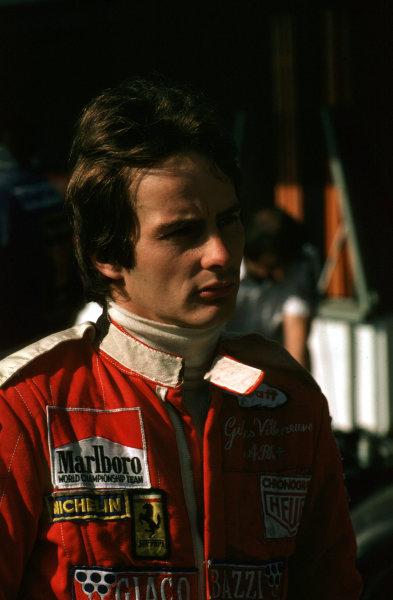 1978 Formula 1 World Championship.Gilles Villeneuve (Ferrari).Ref-V2A 07.World - LAT Photographic