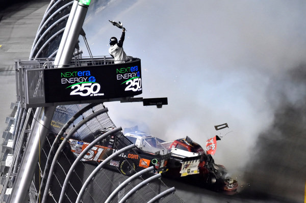 #51: Drew Dollar, Kyle Busch Motorsports, Toyota Tundra JBL
