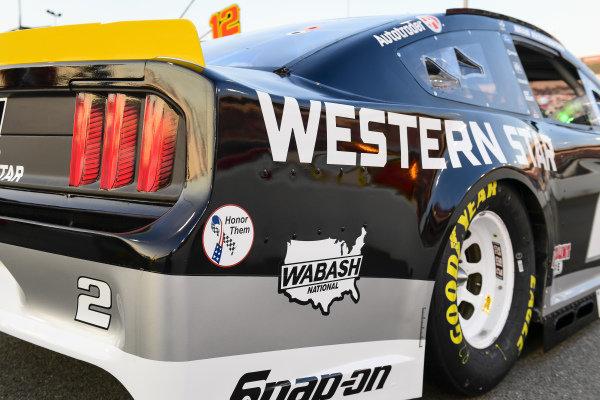 #2: Brad Keselowski, Team Penske, Ford Mustang Western Star decal