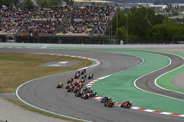 Jack Miller, Ducati Team, race start.