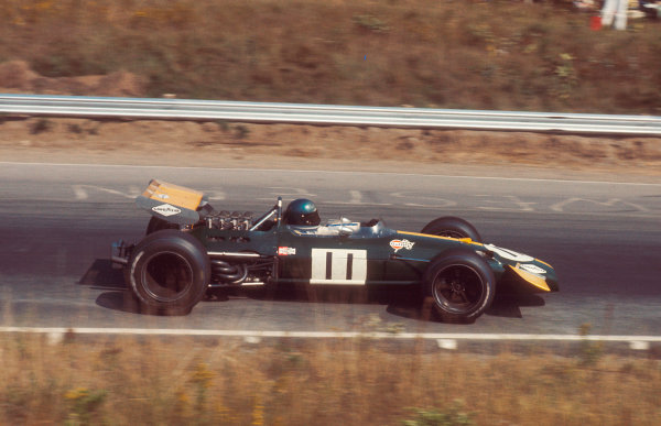 1969 Canadian Grand Prix.Mosport Park, Ontario, Canada.18-20 September 1969.Jacky Ickx (Brabham BT26A Ford) 1st position.Ref-69 CAN 99.World Copyright - LAT Photographic
