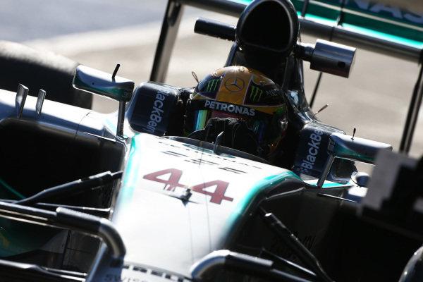 Lewis Hamilton (GBR) Mercedes AMG F1 W05. Formula One Testing, Jerez, Spain, Day Three, Thursday 30 January 2014.