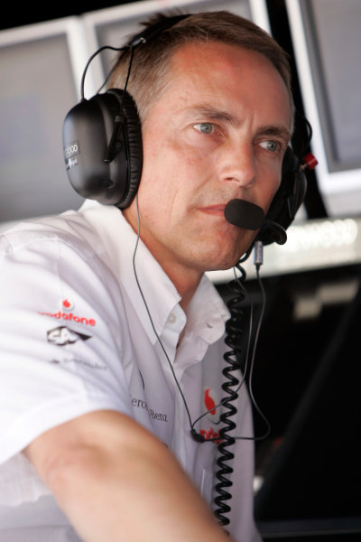 Valencia Street Circuit, Valencia, Spain23rd August 2008Martin Whitmarsh, Chief Operating Officer, McLaren Group. Portrait. World Copyright: Alastair Staley/LAT Photographicref: Digital Image _MG_0493
