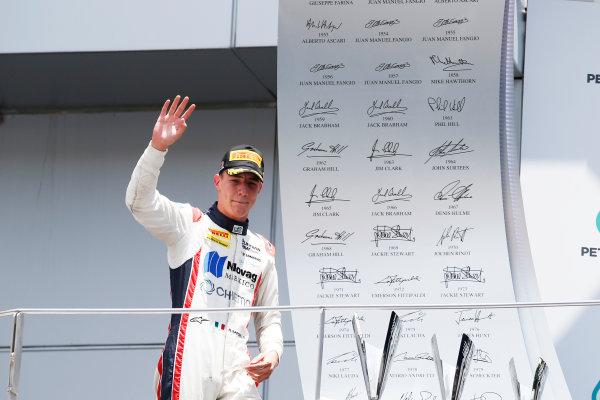 Luca Ghiotto (ITA, Trident)  2016 GP2 Series Round 10 Sepang International Circuit, Sepang, Malaysia. Sunday 2 October 2016  Photo: /GP2 Series Media Service ref: Digital Image _SLA5101