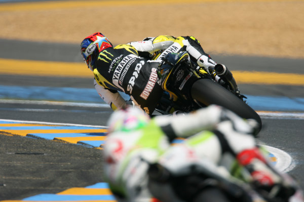 France LeMans. Round 3.  21st - 23rd May 2010 Colin Edwards Monster Yamaha Tech 3