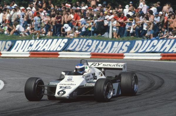 1982 British Grand Prix. Brands Hatch, Kent, Great Britain. 18 July 1982. Keke Rosberg (Williams FW08-Ford Cosworth). World Copyright:LAT Photographic