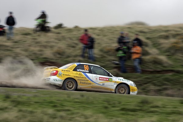 2005 FIA World Rally Champs. Round twelveWales Rally GB.15th - 18th September 2005.Aki Teiskonen, Subaru PWRC, action.World Copyright: McKlein/LAT