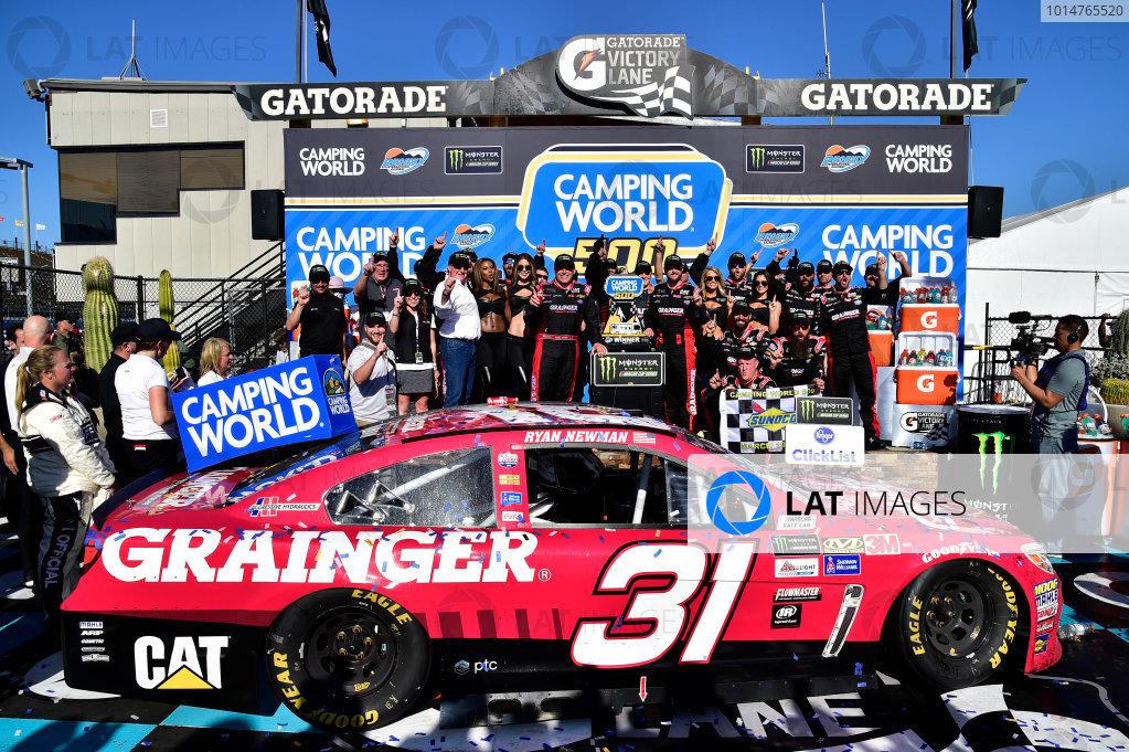 2017 Monster Energy NASCAR Cup Series Camping World 500 Phoenix International Raceway, Avondale, AZ USA Sunday 19 March 2017 Ryan Newman wins World Copyright: Rusty Jarrett/LAT Images ref: Digital Image 17PHX1rj_3094