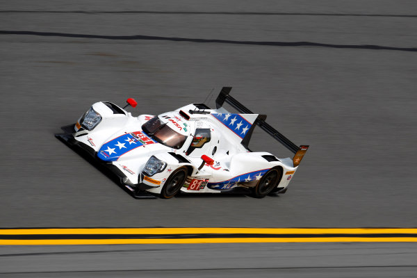 2017 Rolex 24 Hours. Daytona, Florida, USA Thursday 26 January 2017. #81 DragonSpeed ORECA 07: Henrik Hedman, Nicolas Lapierre, Ben Hanley, Loic Duval World Copyright: Alexander Trienitz/LAT Images ref: Digital Image 2017-24h-Daytona-AT2-0844