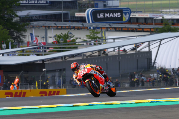 2017 MotoGP Championship - Round 5 Le Mans, France Friday 19 May 2017 Marc Marquez, Repsol Honda Team World Copyright: Gold & Goose Photography/LAT Images ref: Digital Image 670417