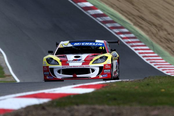2017 Ginetta GT4 Supercup,  Brands Hatch, 1st-2nd April 2017 Carl Boardley Xentek Motorsport Ginetta G55 World Copyright. JEP/LAT Images