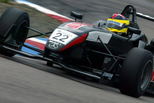 Stephen Jelley (GBR) Raikkonen Robertson Racing British Formula Three, Thruxton, England.23rd September 2006DIGITAL IMAGE