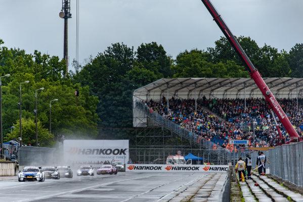 2017 DTM Round 4 Norisring, Nuremburg, Germany Saturday 1 July 2017. Maxime Martin, BMW Team RBM, BMW M4 DTM World Copyright: Mario Bartkowiak/LAT Images ref: Digital Image 2017-07-01_DTM_Norisring_R1_0105