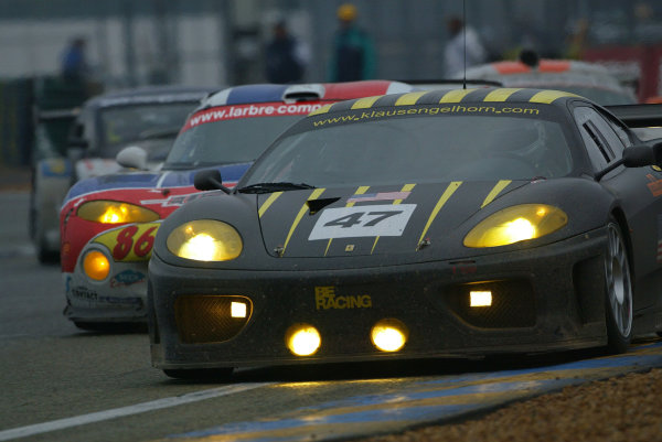 2003 Le Mans 1000kmLe Mans, France. 8th - 9th October 2003.GT class win for Cirtek Ferrari.World Copyright: John Brooks/LAT Photographicref: Digital Image Only