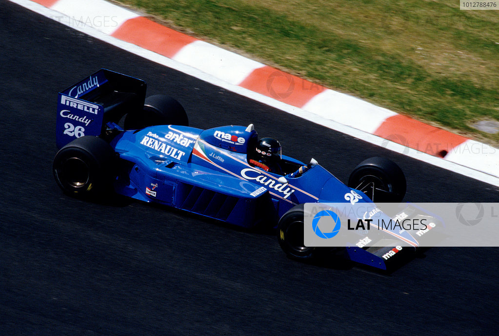 1985 Belgian Grand Prix.