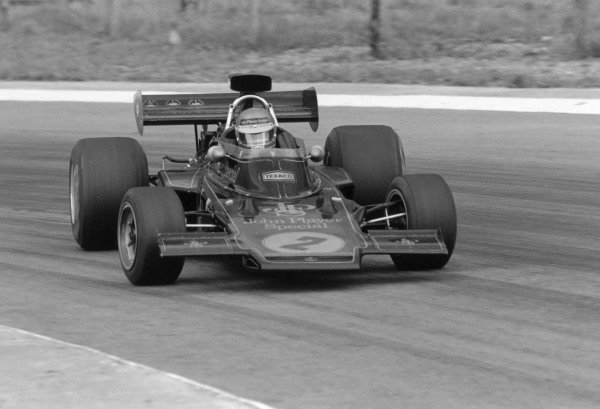 1973 South African Grand Prix.Kyalami, South Africa. 3 March 1973.Ronnie Peterson (Lotus 72D-Ford Cosworth). Ref-5105 #23A.World Copyright - LAT Photographic