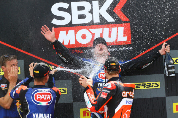 Podium: Michael van der Mark, Pata Yamaha.