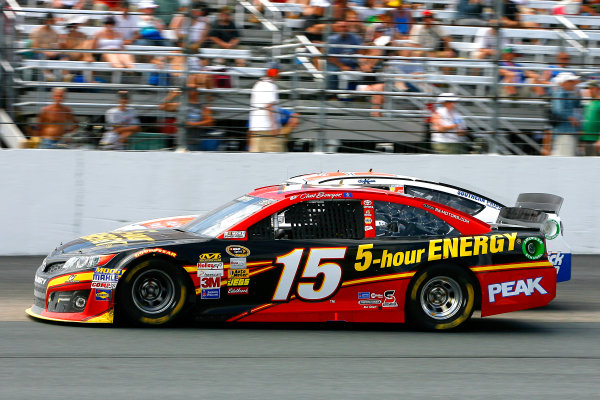 12-14 July, 2013, Loudon, New Hampshire USA Clint Bowyer and Ken Schrader © 2013, Russell LaBounty LAT Photo USA .
