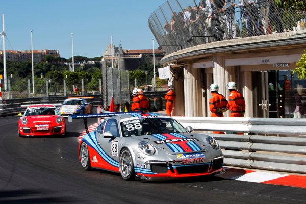 Monte Carlo, Monaco 26th May 2013 Sebastien Loeb, #88 Porsche AG.  World Copyright: Charles Coates/LAT Photographic ref: Digital Image _A8C5894