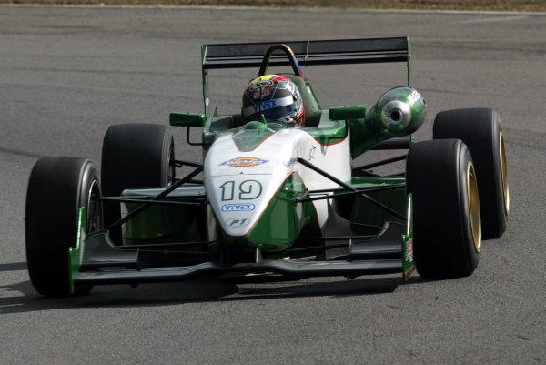 Ernesto Viso (VEN) P1 Motorsport.British Formula Three Championship, Press day.Brands Hatch, Kent, England. 24th March 2004Digital Image