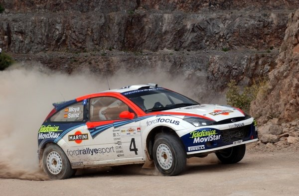 Carlos Sainz (ESP) Ford Focus RS WRC 02