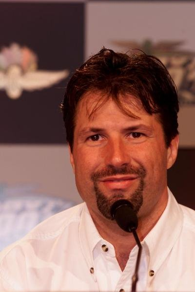 Michael Andretti, USA.  Michael Andretti will race in the2001 Indianapolis 500.  Indianapolis Motor Speedway27,March, 2001.