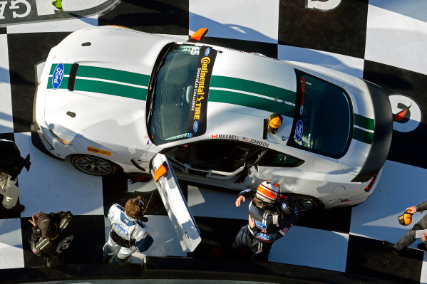 27-29 January, 2016, Daytona Beach, Florida USA Victory Lane: 15, Ford, Shelby GT350R-C, GS, Scott Maxwell, Billy Johnson ?2016, F. Peirce Williams LAT Photo USA