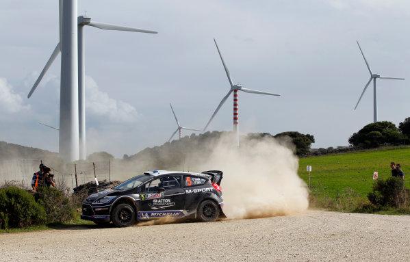 Round 12, Rally d'Italia Sardinia 201218th - 21st October 2012Ott Tanak, Ford, actionWorldwide Copyright: McKlein/LAT